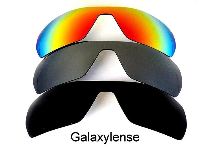 Galaxy Lentes De Repuesto Para Oakley Offshoot Polarizados negro titanio y rojo 3Pair - Transparente,