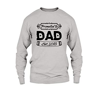 0fd498c6 Are Black Promoted to Dad T Shirt, Long Sleeve Hoodie at Amazon Men's  Clothing store: