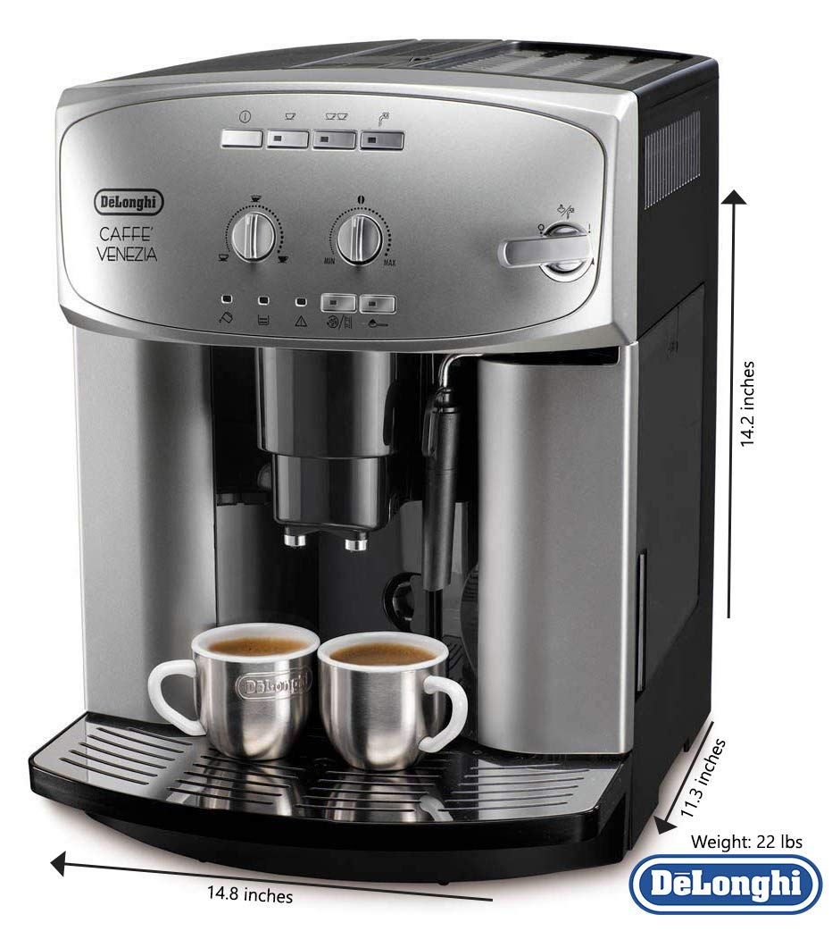 Amazon.com: DeLonghi ESAM 2200S Caffe Venezia Super ...