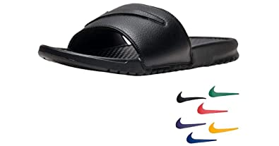 buy online 6cd7f 51da3 De Nike Benassi JDI Ltd Diapositives  Aq8614–001 , Argent (Argenté)