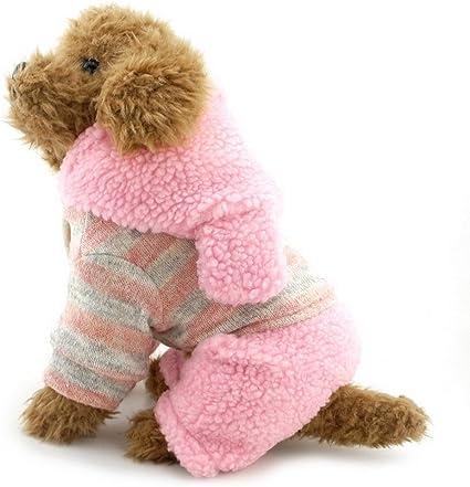 de la marca Selmai Ch/ándal de invierno con forro para perros peque/ños o gatos