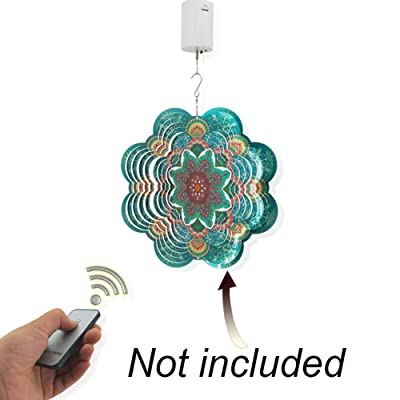 Motor Rotating for Wind Spinner Ornament Hanging Decor Wind Chimes Mini Remote