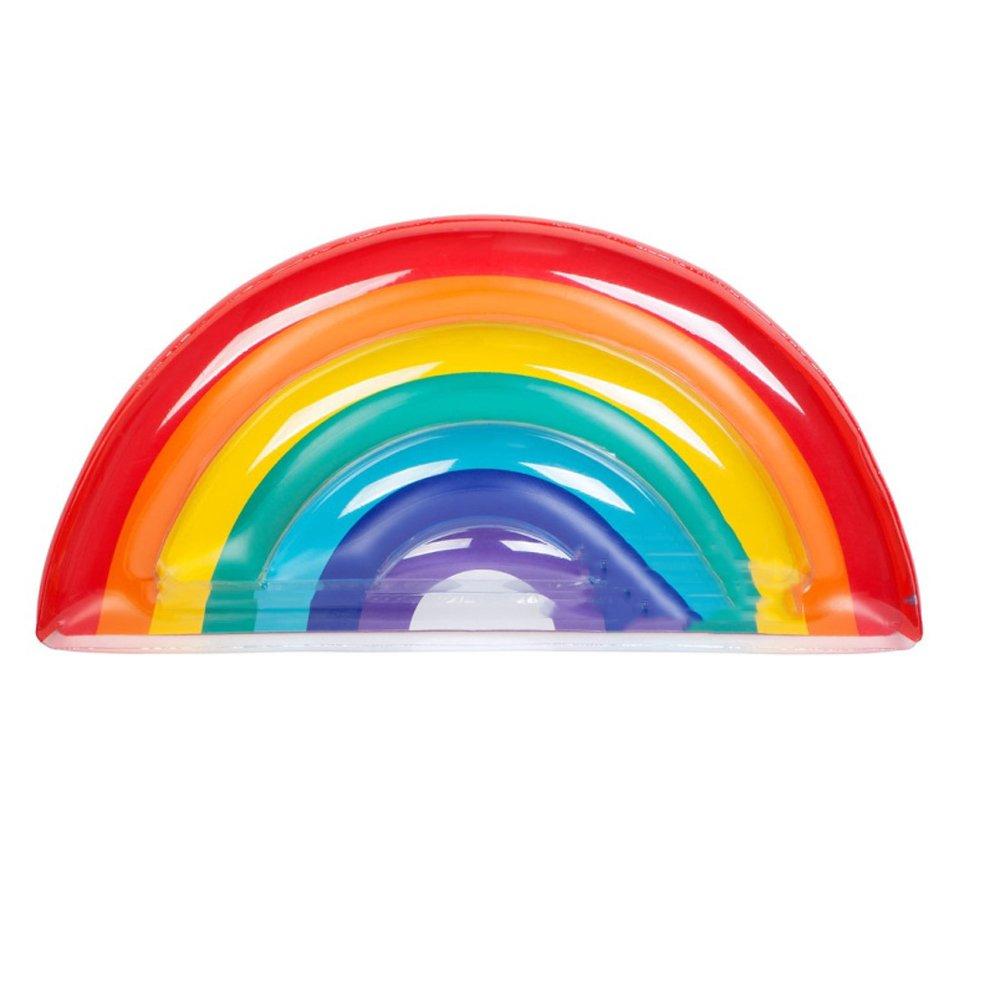 Wasser Regenbogen Aufblasbare Schwimmende Bett Erwachsene Farbe ...