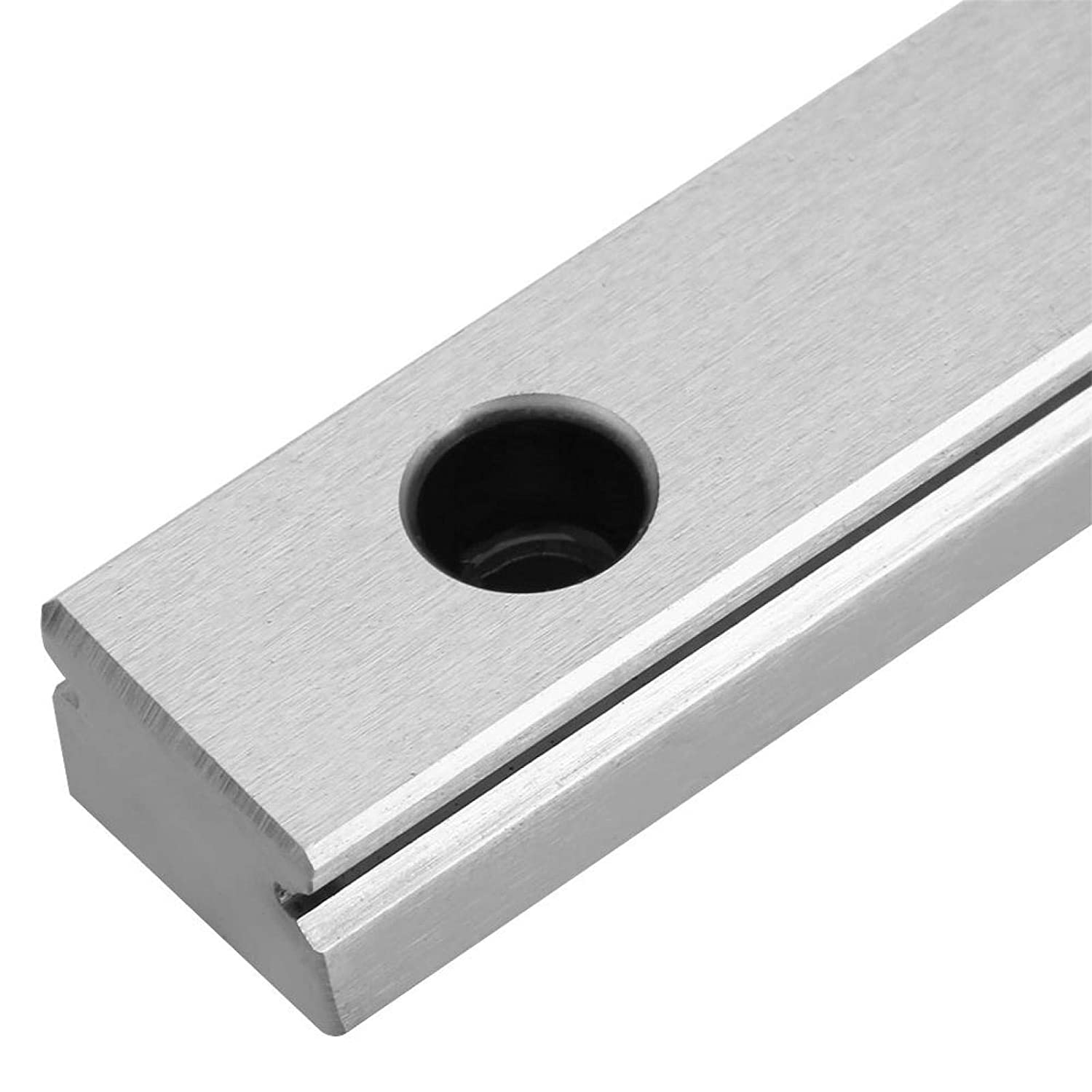 500mm Metal Light Weight Durable Miniature Linear Sliding Rail Beautiful Design 250//300//400//500//550mm Stable Guide Slide Rail Block for Automatic Equipment