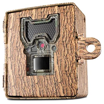 Bushnell 119754C Trail Cam Accessories Aggressor Security Box Clamshell, Tree Bark Camo