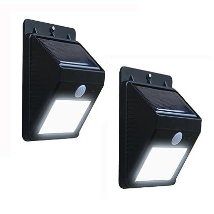 2 x Solalite bombilla LED con Sensor de movimiento para sin cables