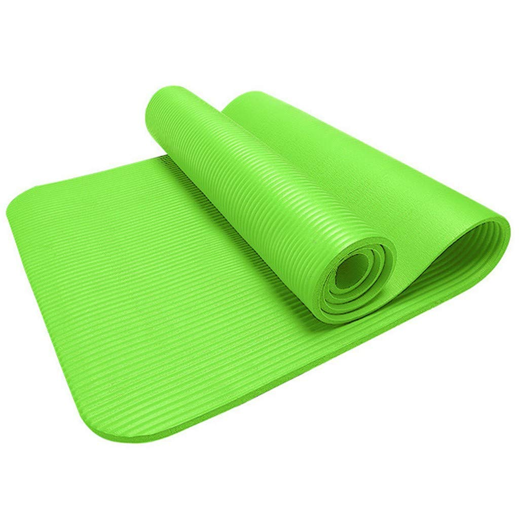 Amazon Com Tadami Yoga Mat All Purpose Yoga Workout Mat Comfort Foam Thick Yoga Exercise Mat Eco Friendly Non Slip Lose Weight Pad Fitness Exercise Mat For Home Gym Yoga Pilates Floor Exercises Green Baby