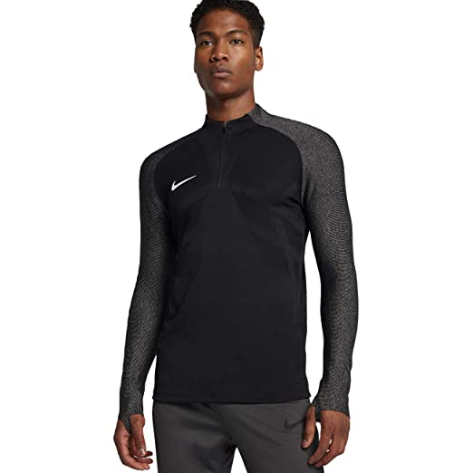ebc36254a NIKE Strike Aeroswift Long Sleeve Top Black/Grey 858872 010 Men's Medium