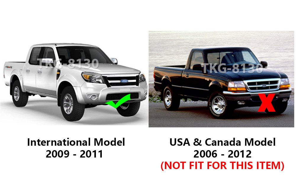 K1AutoParts Strap Tailgate Wire Cable Rear Tail Gate For Ford Ranger 2006 2007 2008 2009 2010 2011 International Model Outside of North America