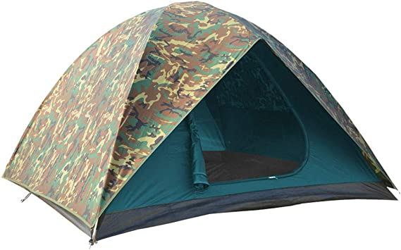 2 person Two Man Tent Mosquito Net Camping Bundeswehr camo Trekking BW New