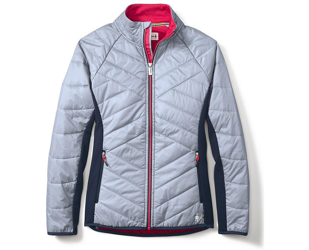 SmartWool Women's Double Corbet 120 Jacket Blue Ice Small