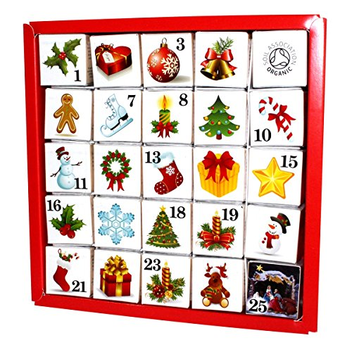 English Tea Shop - Advent Calendar - Christmas Ornaments - (Advent Calendar Ornaments)