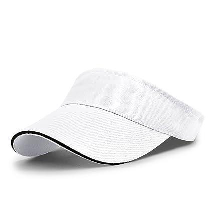 pretty nice 8d0ca 3e545 Image Unavailable. Image not available for. Color  LAOWWO Men Women  Sportwear Sun Visor Hat.Golf hat Hiking Cap