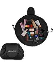 a6cd4cc59fb6 Lazy Drawstring Make up Bag Portable Large Travel Cosmetic Bag Pouch Travel Makeup  Pouch Storage Organiser