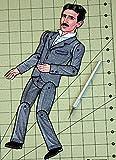 Nikola Tesla Articulated Paper Doll