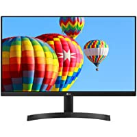 LG 24MK600M-B 24'' Full HD (1920 x 1080) IPS Display with 3-Side Virtually Borderless Design and Radeon FreeSync…