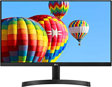 LG 24MK600M-B 24'' Full HD (1920 x 1080) IPS Display with 3-Side Virtually Borderless Design and Radeon FreeSync Technology and Dual HDMI