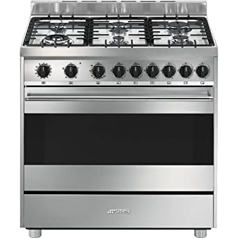 Smeg B9GVXI9 Independiente Gas hob A Acero inoxidable ...