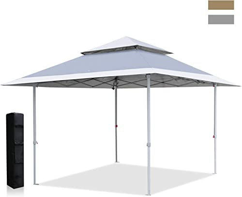 ABCCANOPY Canopy Tent 13×13 Pop Up Shelters Pop-up Canopy Shade Instant Shelter Outdoor Canopy, Gray