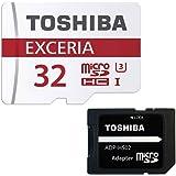 東芝 Toshiba 超高速U3 4K対応 microSDHC 32GB 専用SDアダプ付 海外向パッケージ品 [並行輸入品]
