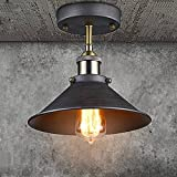 CLAXY Ecopower Industrial Mini Edison Ceiling Light 1-Light