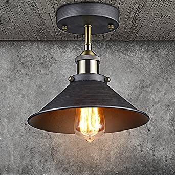 CLAXY Ecopower Industrial Mini Edison Ceiling Light 1