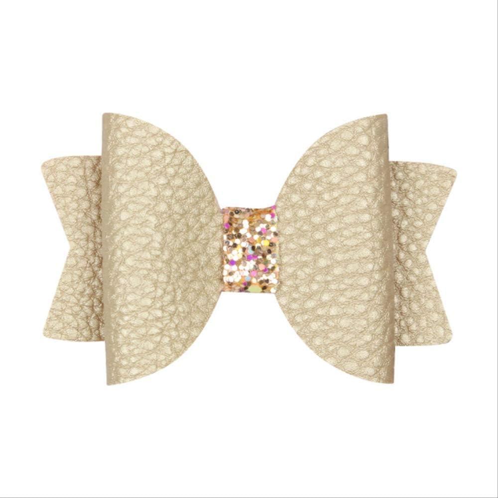 FOEAQ tocados Niñas Accesorios De Pelo De Cuero Pelo Pelo Clip De Pelo Niños Glitter Conejo Arcos Horquillas Para La Fiesta 11