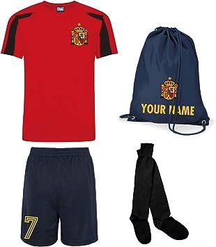 Print Me A Shirt Kit del Equipo de España Personalizable con ...