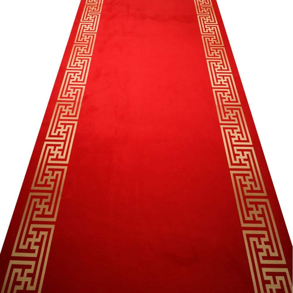 ZENGAI 廊下のカーペット ランナー ラグ 特大 結婚式 廊下 階段 ランナー ラグ 滑り止め ゴムバッキング カーペット エントランス ドア マット マルチカラー 、 複数のサイズ (色 : A, サイズ さいず : 1.4x3m) B07RLMVK4B A 1.4x3m