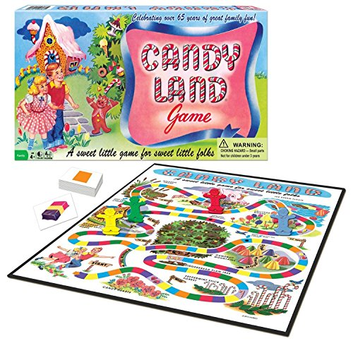 Candy Land 65th Anniversary Game New
