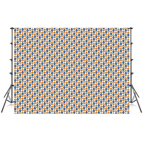 Ikat Stylish Backdrop,Middle Eastern Inspirations Geometric Shapes Arrow Traditional Abstract Motifs Decorative for Photography Festival Decoration,59''W x 39''H ()