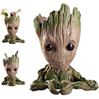 kitchenLS666 Baby Groot Flower Pot Marvel Figura