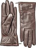 Hestra Women's Charlene Gloves Dark Brown 6 & Knit Cap Bundle