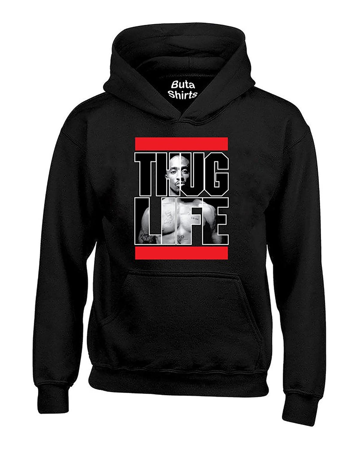 2PAC Death Row Mens Heavyweight Pullover Hoo Tupac At Amazon