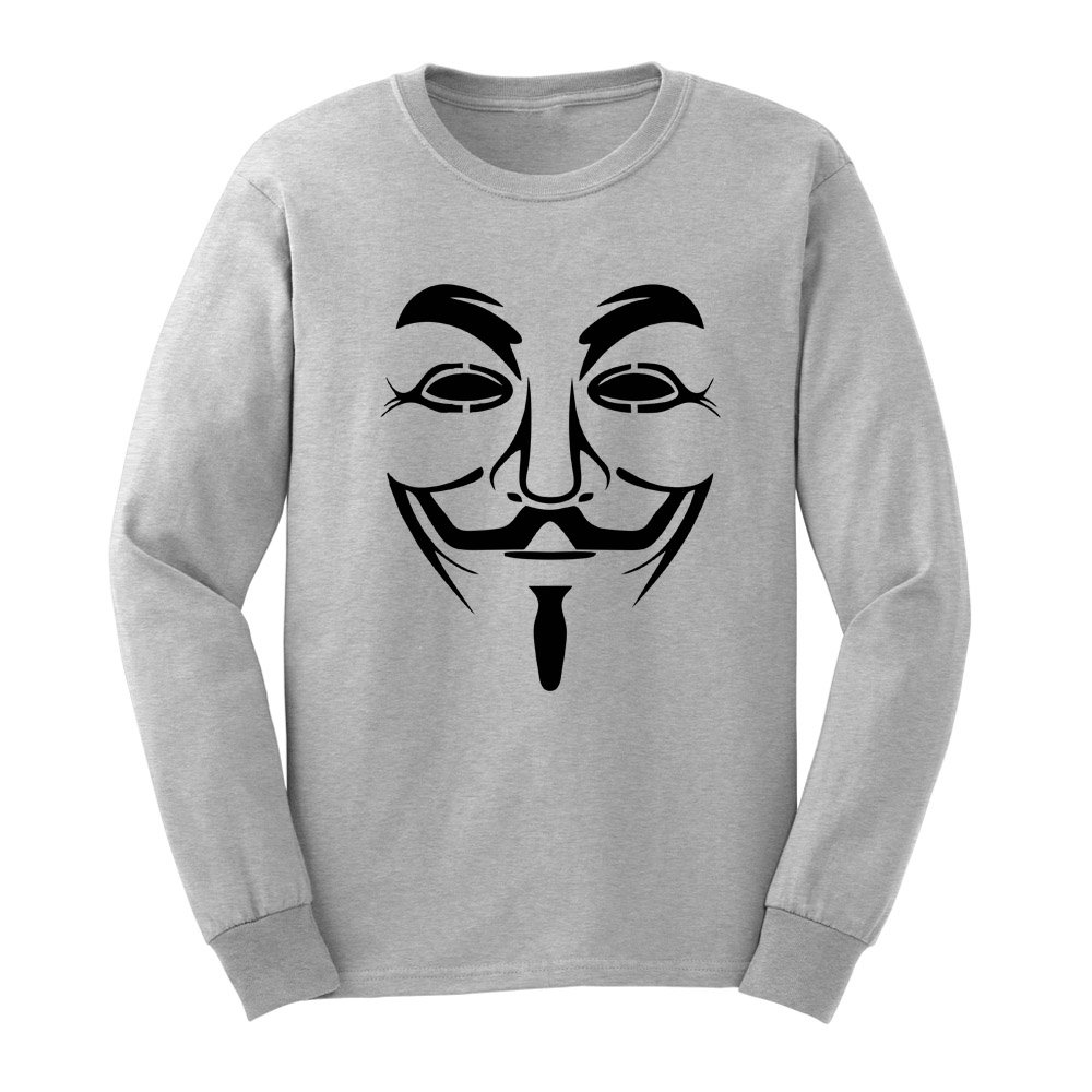 Loo Show S Anonymous Mask Adult T Shirts Casual Tee