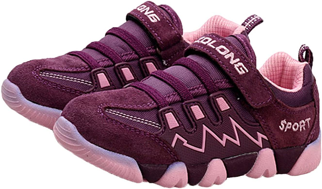 Toddler//Little Kid//Big Kid iDuoDuo Kids Casual Mesh Shoes Outdoor Athletic Trail Running Sports Sneakers