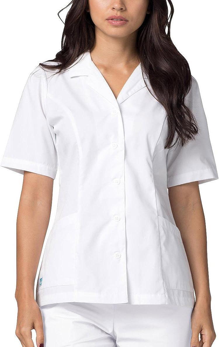Adar Uniformi Mediche Camice Unisex Parte Superiore Infermiera Ospedale da Lavoro