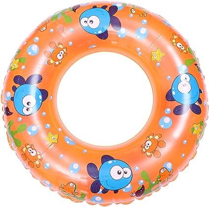 "Inflatable Swim Ring 90cm Sport Beach Swimming Pool 35/"" Kids Child Swim Rings"