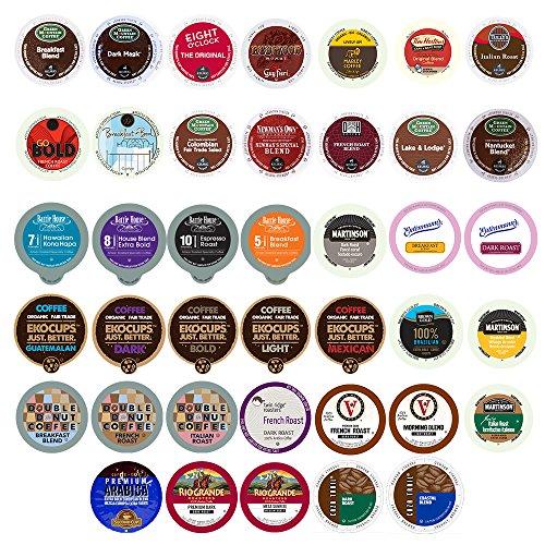Coffee Variety Sampler Pack for Keurig K-Cup Brewers, 40 Count, (12.69 oz )