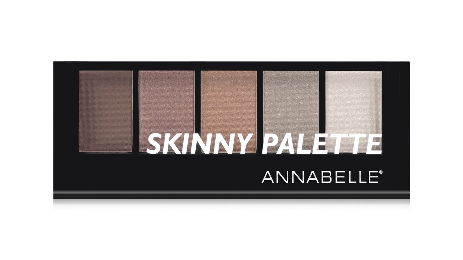Annabelle Skinny Eyeshadow Palette - New Eve Goldy Browns, 7.65 g Groupe Marcelle Inc.