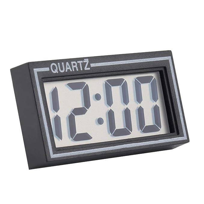 DoMoment Reloj Digital, Reloj de Pared Grande/Relojes de día, con Pantalla LCD Grande para Hoom Auto: Amazon.es: Hogar