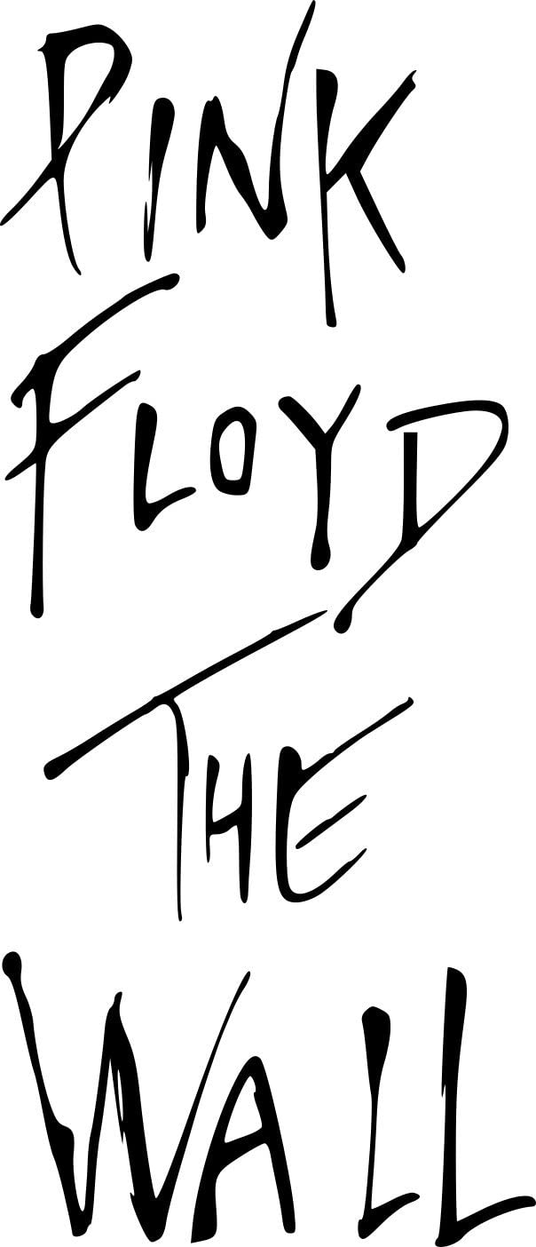 PINK FLOYD THE WALL MURAL ART STICKER DECAL CUT VINYL VARIOUS SIZES AND COLOURS