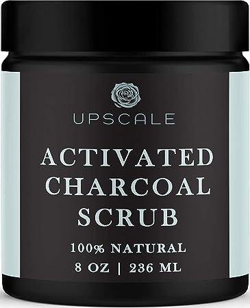 Amazon Com Activated Charcoal Face And Body Scrub Blackhead