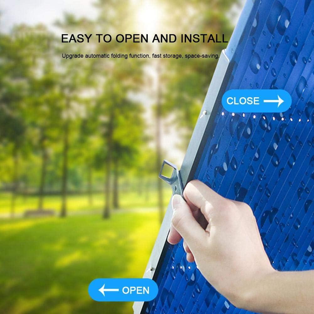 Mbition Parasol De Voiture R/étractable Pare-Soleil Disolation De Protection Solaire Rideau Avant Dombrage T/élescopique Automatique Pare-Brise Pare-Brise De Voiture