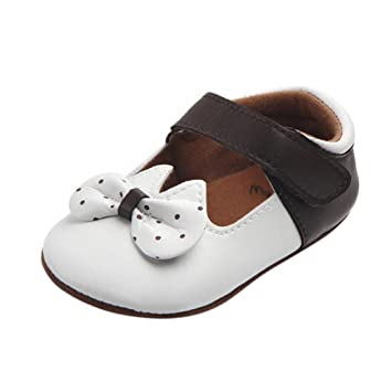 Zapatos De Bebé Patucos Recién Nacido bebé niñas Bowknot Punto Lindo ...