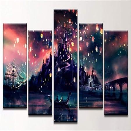 XXXSHF s Modular Pintura Decoración Moda Hogwarts Moderno ...