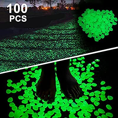 Boomile Glowing Pebbles for Garden