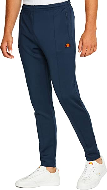 Ellesse - Pantaloni Sportivi - Uomo Blu S  Amazon.it  Abbigliamento 415dad2c4c7