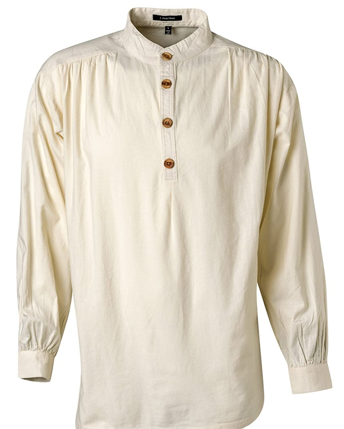 Edwardian Men's Shirts & Sweaters The J. Peterman Shirt $33.35 AT vintagedancer.com