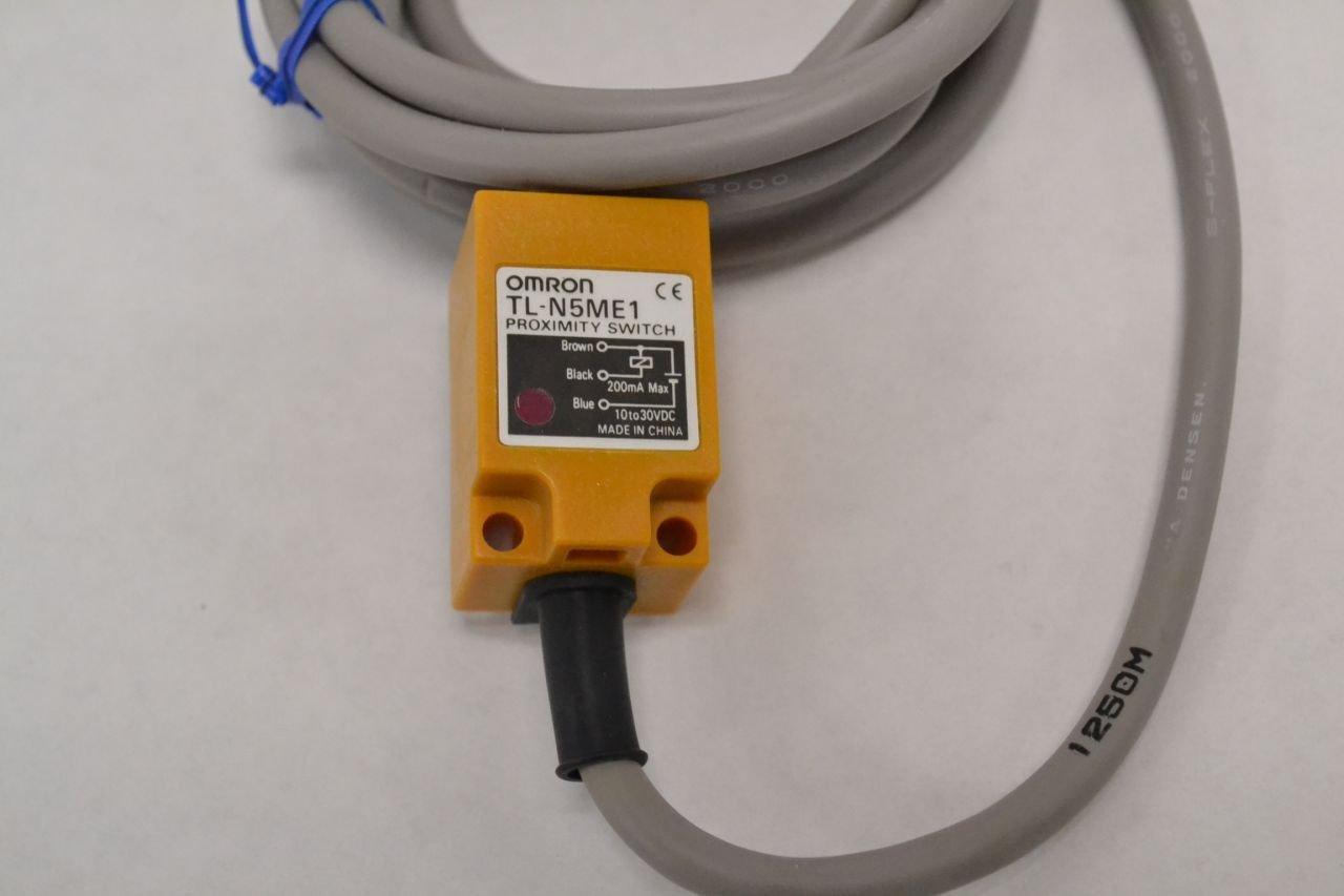 Amazon.com: OMRON TL-N5ME1 2M Rectangular Standard Proximity Sensor (NO)(DC 3-wire, NPN)NN: Home Improvement